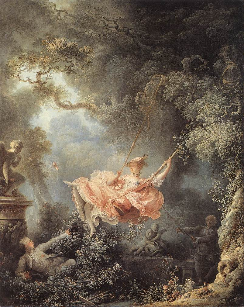 Fragonard, Jean Honor - El Columpio, 1767